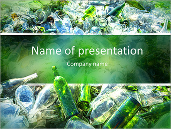 Recovery of waste PowerPoint Template