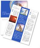 High voltage post.High-voltage tower sky background. Newsletter Templates