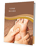 Reflexology foot massage, spa foot treatment,Thailand Presentation Folder