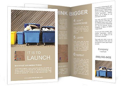 overfilled trash of large wheelie bins for rubbish recycling and