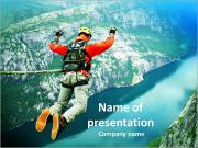Rope jumping PowerPoint Templates
