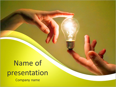 Human Energy Powerpoint Template