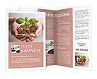 New business perspective - seedling in coins Brochure Template