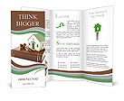 3????'?¤ illustration: Protection of the rights of a private property. The house costs on books with Brochure Template