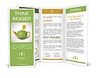 Concept sweetie teapot Brochure Templates