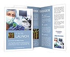 Laboratories experiment Brochure Templates