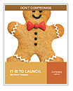 Gingerbread man Word Templates