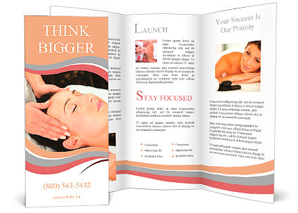 Spa Brochure Template Day Spa Beauty Salon Tri Fold Brochure – Spa Brochure Template