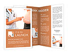Woman doctor with a medical examination in obese patient Brochure Templates