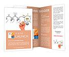 Teamwork builds big idea Brochure Templates