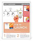 Teamwork builds big idea Flyer Template