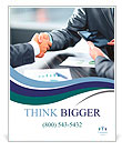 Business handshake Poster Template