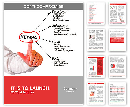 diagram of stress consequences word template amp design id
