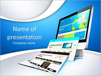 Web design concept PowerPoint Template