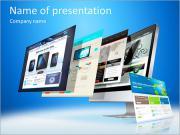 Концепция Веб-дизайн Шаблоны презентаций PowerPoint