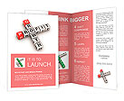 Growth and profit crossword Brochure Templates
