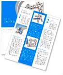 Business organization basis crossword Newsletter Template