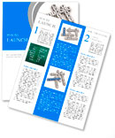Support crossword puzzle Newsletter Template