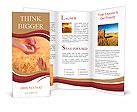 Prayer to the provider Brochure Templates