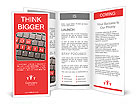 Now hiring on keyboard Brochure Template