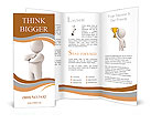 A man with a crown on his head. White background. 3d render Brochure Templates