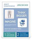 Human Teeth Flyer Templates