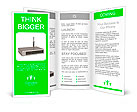 Wireless router. 3d image. Isolated white background. Brochure Templates