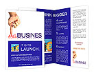Pressing small business , business concept, isolated Brochure Templates