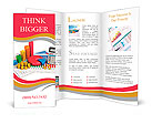 Financial business, analytics, banking and accounting concept: pie chart, bar graph, golden coins an Brochure Templates