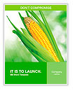 Corn field Word Templates