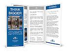 Famous Tower Bridge in London, UK Brochure Templates