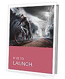 Waves cyclist Presentation Folder