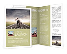 Concept of competition in the business Brochure Templates