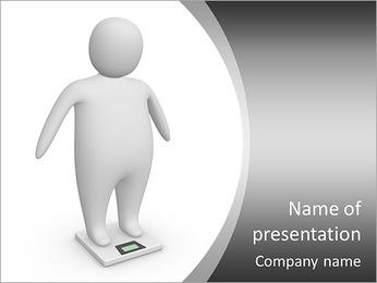Fat man PowerPoint Template