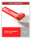 Welcome Success. This is a 3d render Word Templates