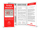 Magnetic/Two men and a magnet Brochure Templates