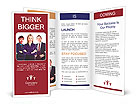 Business people group. Business team. Isolated over white background. Brochure Templates
