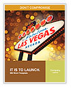Welcome To Las Vegas neon sign at night Word Templates