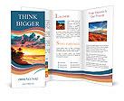 Sea sunset Brochure Templates