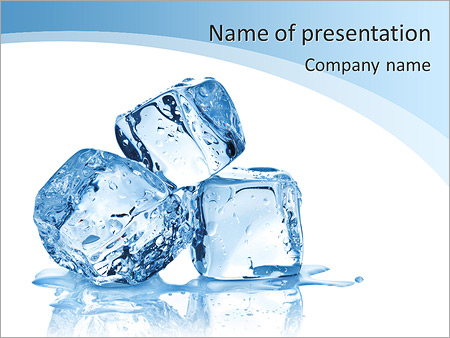 Three ice cubes on white background powerpoint template three ice cubes on white background powerpoint template toneelgroepblik Image collections