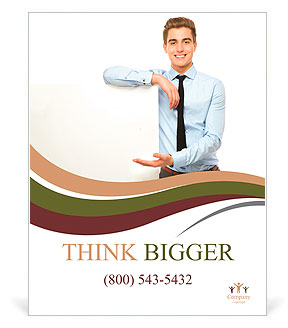 advertisement poster template