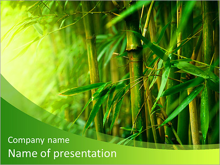 bamboo forest powerpoint template backgrounds google slides id