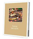 Casino Roulette - 3d render Presentation Folder
