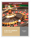 Casino Roulette - 3d render Word Templates