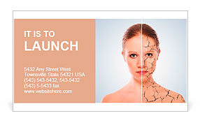 Concept of cosmetic effects treatment and skin care face of young concept of cosmetic effects treatment and skin care face of young woman before and after the proce business card template colourmoves