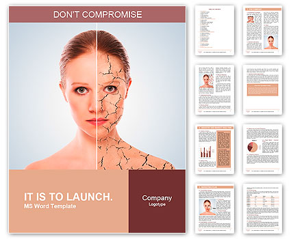 concept of cosmetic effects treatment and skin care face of young