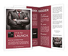Closeup businessman suit high resolution Brochure Templates