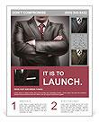 Closeup businessman suit high resolution Flyer Templates