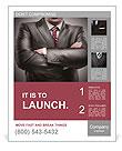 Closeup businessman suit high resolution Poster Template