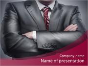 Closeup businessman suit high resolution PowerPoint Templates